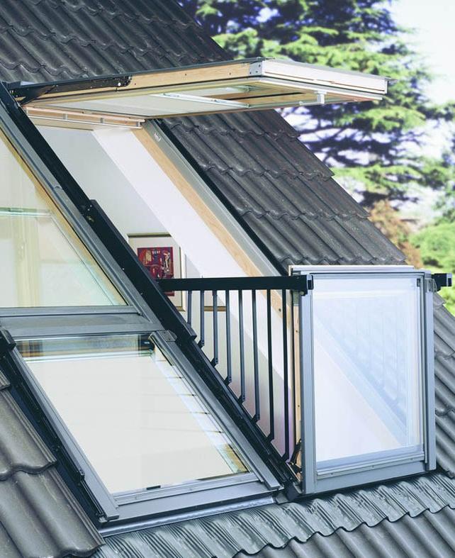 Velux evrokrovlya - Velux dachfenster balkon ...