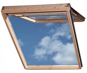 Мансардные окна Velux с комбинированным открыванием