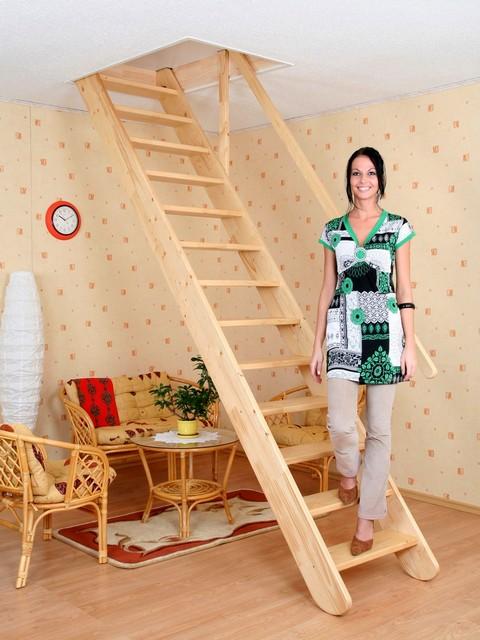 Домашние лестницы от ЕвроКровли