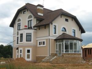 Фасад дома от ЕвроКровли