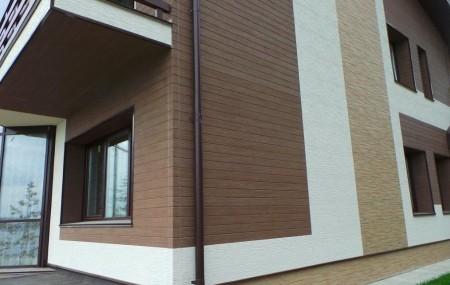 Фиброцементный сайдинг – это разновидность современных фасадных панелей, изготовленных из спрессованного при высокой температуре фиброцемента. Данный материал является экологически чистым, поскольку состоит он из песка, цемента, связующих волокон, воды и воздуха, то есть из совершенно безвредных для человека компонентов. Высокая прочность фиброцементных панелей обеспечивается, благодаря автоклавированию, придающему их структуре высокую степень однородности. Фиброцементный сайдинг, как […]