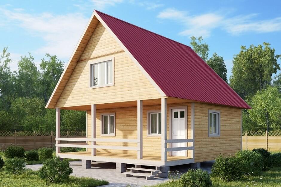 Устройство крыши деревянного дома - ЕвроКровля