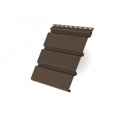 Панель с перфорацией, коричневая