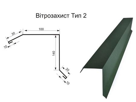 Ветрозащита тип 2